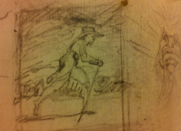 Blake's pilgrim sketch