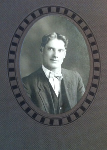John Golling (Grandpa) as young man 1