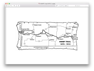 NWMPT map SHFS