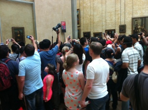 at the Mona Lisa Paris 2013