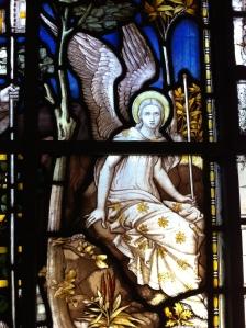 angel from St Pancras church London 2015