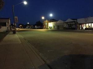 blue moon over main street