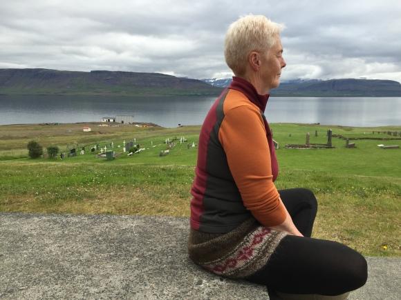 Jonina meditates