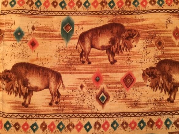 bison potholder