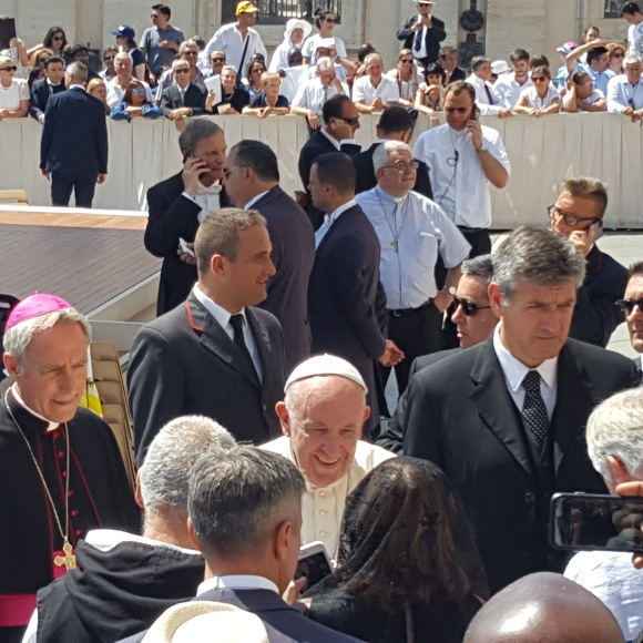 Pope Francis audience June 2018