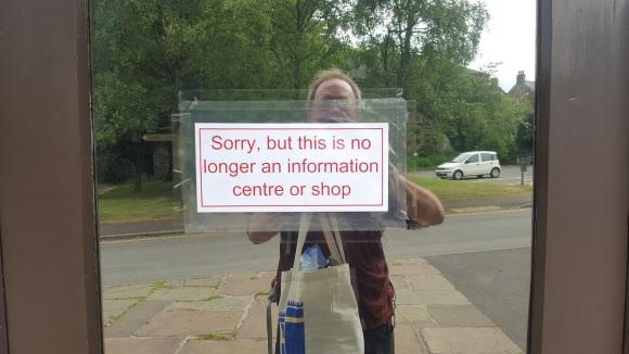 sorry kiosk closed Hayfield