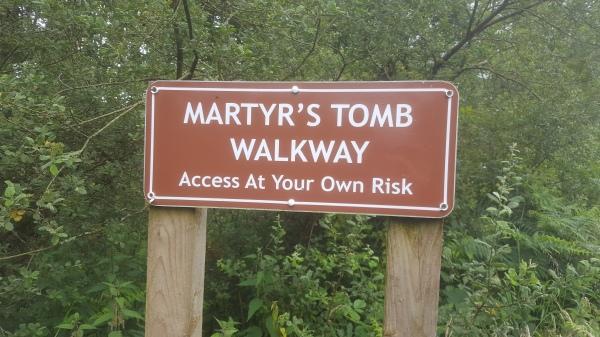 Barrhill Martyrs' Tomb