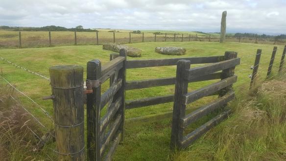 Drumtrodden Standing Stones