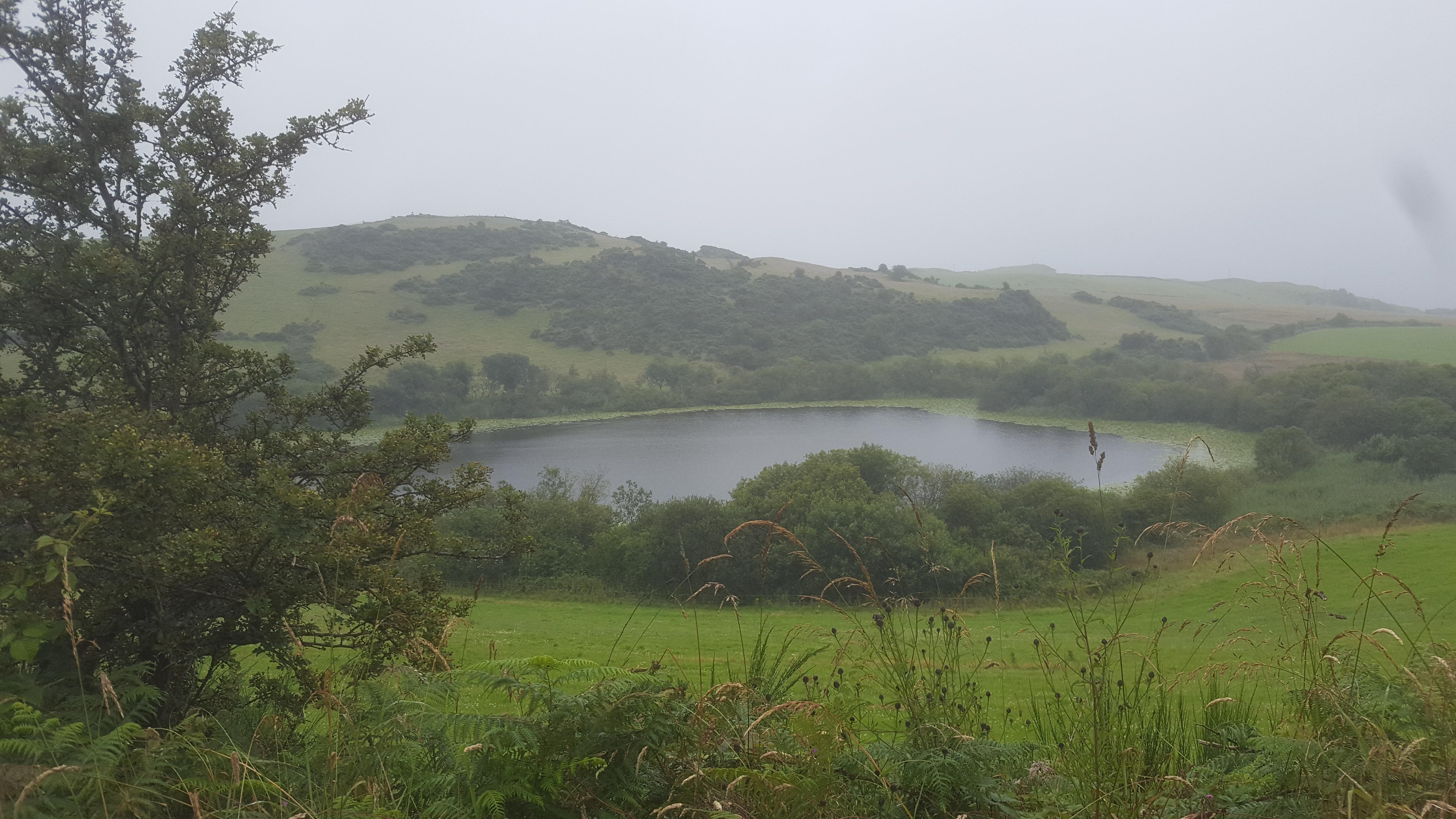 Loch with Crannog