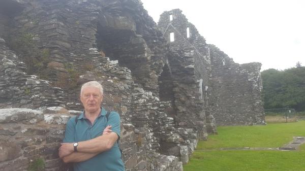 Peter Ross at Glenluce Abbey