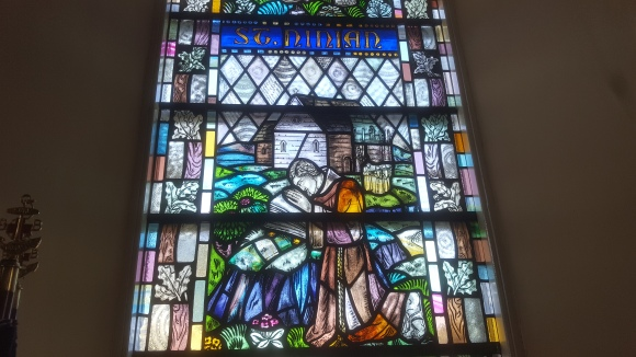 St Ninian Stained Glass from Whithorn