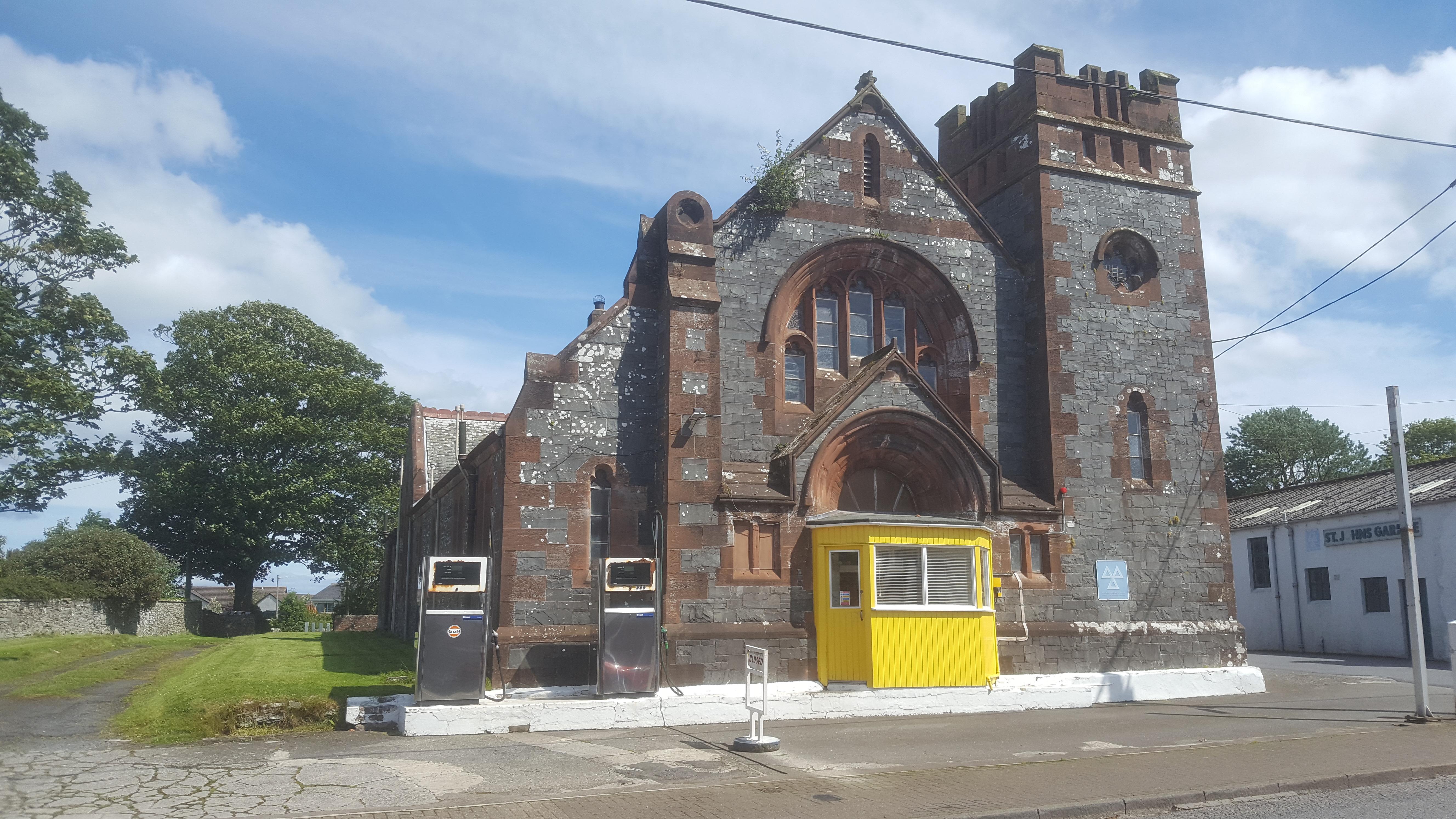 Whithorn Church Gas Station
