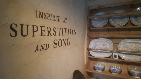 Burns cottage slogan